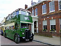 TR0161 : Old bus outside the Alexander Centre, Preston Street, Faversham by pam fray