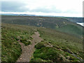 SW6949 : High level coastal path south of Wheal Coates by Robin Webster