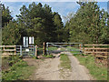 SU8763 : Gate, Swinley Forest by Alan Hunt