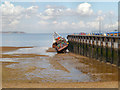 TR1067 : Jetty at Whitstable Harbour by David Dixon