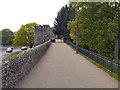 TR1457 : Canterbury City Wall by David Dixon