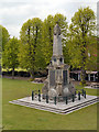 TR1457 : South African War Memorial, Dane John Gardens by David Dixon
