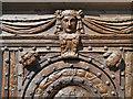 TR1457 : Carvings, Christ Church Gate by David Dixon