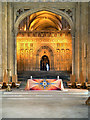 TR1557 : The Nave, Canterbury Cathedral by David Dixon
