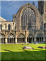 TR1557 : Canterbury Cathedral, Chapter House by David Dixon