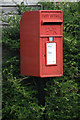 ST5492 : Post Box on a pole by ben hollier