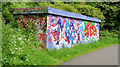 J3470 : Graffiti, Lagan towpath, Belfast (May 2013) by Albert Bridge