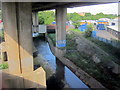 SP0890 : River Tame Passing Underneath Aston Expressway A38(M) by Roy Hughes