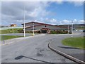 HU5462 : Whalsay Leisure Centre by Oliver Dixon