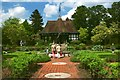SJ4160 : Tea House and Garden at Eaton Hall by Jeff Buck
