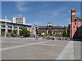SE2934 : Leeds, Millennium Square by David Dixon