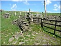 SE0429 : Stile on the Calderdale Way by Humphrey Bolton
