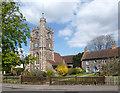 TQ2597 : Church and Cottage, Monken Hadley by Des Blenkinsopp