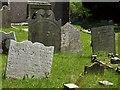SX4061 : Gravestones, Botusfleming by Derek Harper
