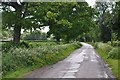 ST5264 : Bath and North East Somerset : Kingdown Road by Lewis Clarke