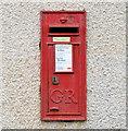 J5980 : GR wall box, Donaghadee (1) by Albert Bridge