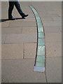 NT2673 : Curved lighting strip set in paving, Horse Wynd : Week 24