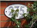 TM1238 : Bridge Sign on Bentley Bridge : Week 24