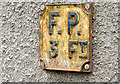 D1003 : Cast fire-hydrant marker, Ballymena by Albert Bridge