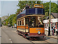 SK3454 : Glasgow Tram at Stephenson Place by David Dixon