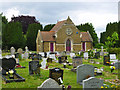 TL8507 : Chapel, Heybridge Cemetery : Week 26