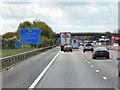 SJ9317 : Southbound M6 near Dunston by David Dixon