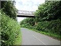 SJ4652 : Carden Lane Footbridge by Jeff Buck