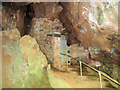 SX7466 : The Door into Joint Mitnor Cave, Higher Kiln Quarry, Buckfastleigh by Chris Reynolds