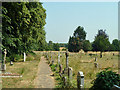 TQ0487 : Graveyard, Denham : Week 29