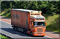 J2968 : Mulgrew lorry, M1, Dunmurry by Albert Bridge