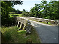 SX2483 : Road bridge over River Inny, Gimblett's Mill by Maurice D Budden