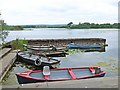 R2789 : Harbour for small boats, Lough Inchiquin by Oliver Dixon