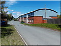 SO0561 : Llandrindod Wells Sports Centre by Jaggery