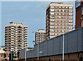 J3375 : Artillery flats, Belfast (2013-1) by Albert Bridge