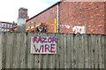 SD5705 : Razor wire by Gary Rogers