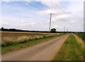 TL2768 : Moats Way northwards by Andrew Tatlow