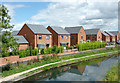 SO9396 : New canalside housing near Ettingshall, Wolverhampton : Week 33