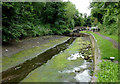 SJ9001 : Drained canal near Oxley, Wolverhampton by Roger  Kidd