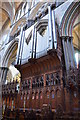 SU1429 : The Organ, Salisbury Cathedral by Julian P Guffogg