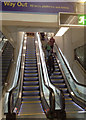 SP0686 : All change at New Street: new escalators to platforms 4 and 5  by Robin Stott
