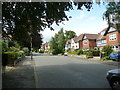 SP0882 : Looking north-west along Oxford Road by Basher Eyre