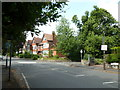 SP0882 : Approaching a mini-roundabout in Oxford Road by Basher Eyre