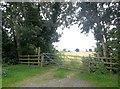 SK3231 : Public Footpath near Hall Pastures Farm by Jonathan Clitheroe