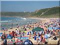 SW3526 : Sennen beach in August : Week 34