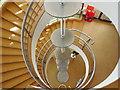 TQ7407 : Spiral Staircase, De La Warr Pavilion by Paul Gillett