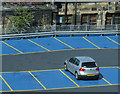 NS5865 : Mitchell Street car park by Thomas Nugent