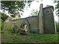 TL1587 : Ruined church of All Saints in Denton by Richard Humphrey