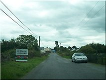 N0719 : Entering the village of An Clochan/Cloghan on the Belmont Road by Eric Jones