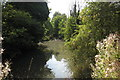 SP9745 : Moat at Bourne End Farm by Philip Jeffrey