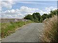 SK3730 : Sinfin Moor Lane railway bridge by Alan Murray-Rust